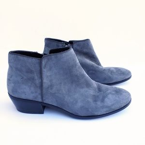 Sam Edelman Suede Leather Ankle Bootie Petty 9